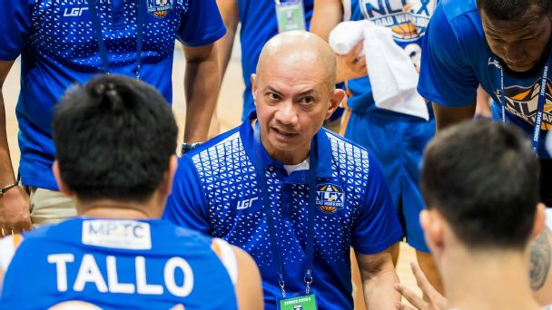 Coach Yeng Guiao and the NLEX Road Warriors