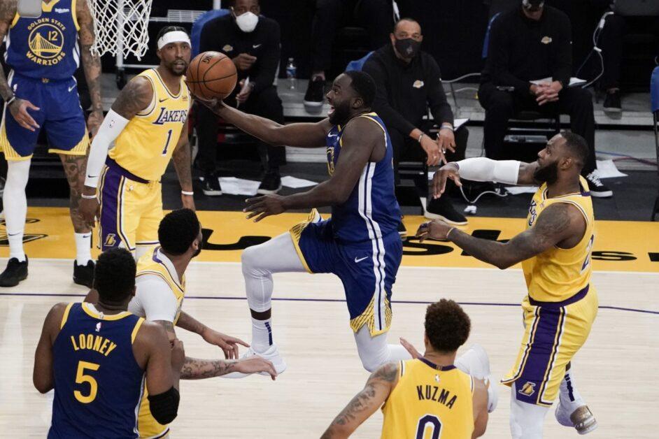 Draymond Green versus LeBron James and the Los Angeles Lakers (Jae C. Hong / Associated Press)