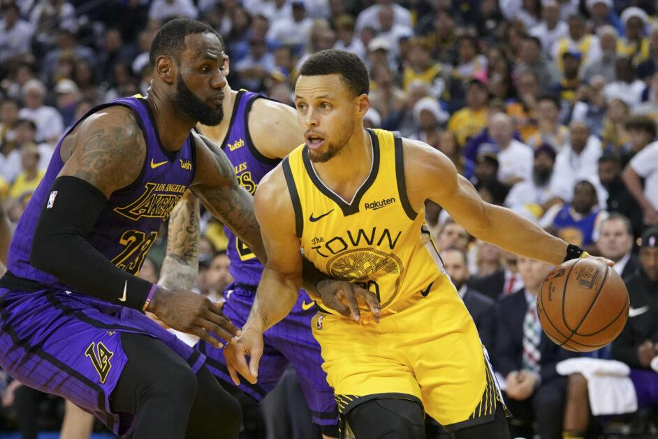 Steph Curry versus LeBron James