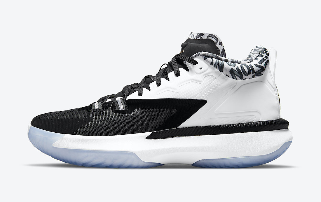 The Jordan Zion 1 is infused with a combination of mesh and fuse materials. (Photo courtesy of Sneaker Bar Detroit)
