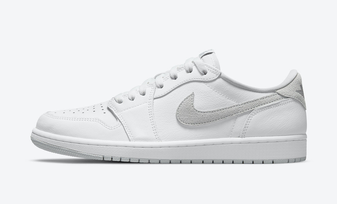 The Air Jordan 1 Low OG received minor tweaks from the 1985 release. (Photo courtesy of Sneaker Bar Detroit)