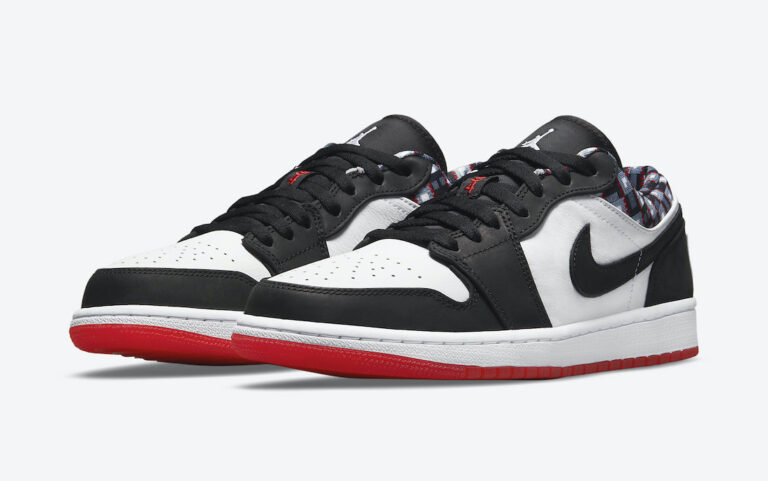 The Air Jordan 1 Low joins the Quai 54 2021 Collection. (Photo courtesy of Sneaker Bar Detroit)