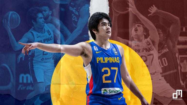 SJ Belangel Gilas Pilipinas