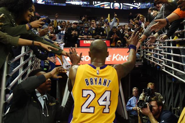 Kobe Bryant last game (Photo via Sneaker Bar Detroit)